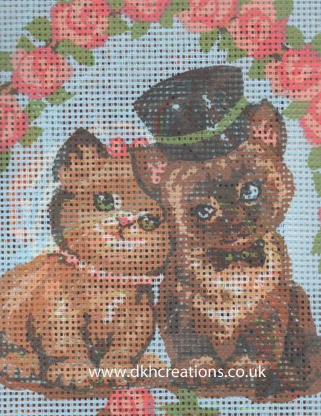 Wedding Cats Tapestry Kit